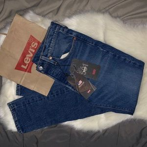Made in USA Levi's 501 skinny jeans